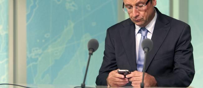 Hollande en Le Point