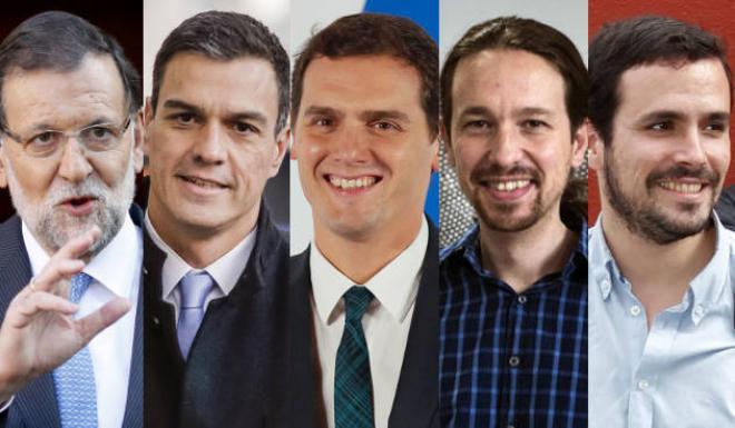 Candidatos al 20D