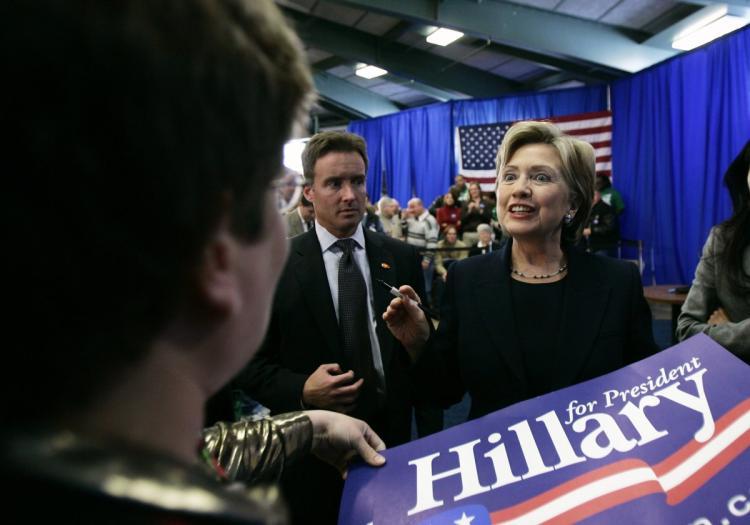 Spin doctors de Hillary Clinton