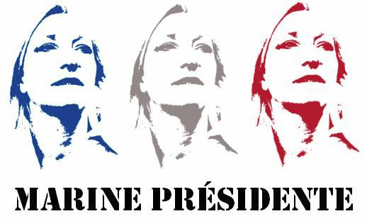 Marine Présidente.