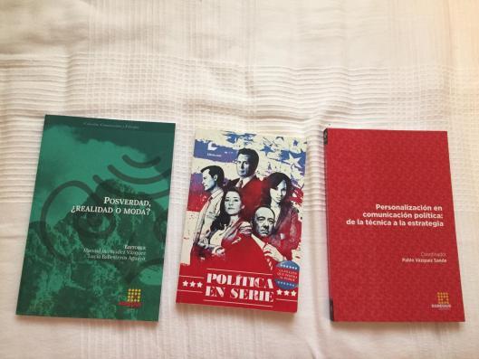 Política y series para el Día del Libro