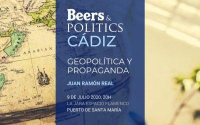 'Beers&Politics' regresa a El Puerto con 'Geopolítica y propaganda'