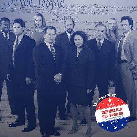 Mi visión de 'El ala oeste de la Casa Blanca' en 'República del Spoiler'