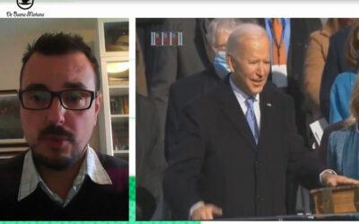 """Biden centra su discurso en la """"vuelta a la normalidad"""""""