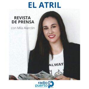 Mila Alarcón en Radio Puerto.