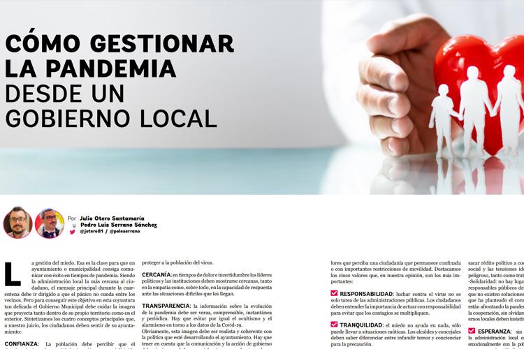 Cómo gestionar la pandemia desde un gobierno local